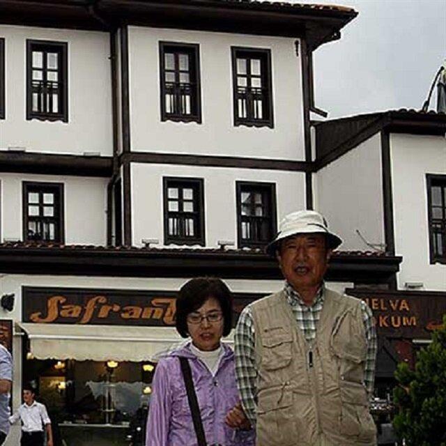 Tayvanlılar Safranbolu'yu sevdi