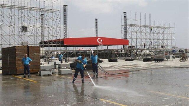 Yenikapı'ya 3 milyonu aşkın katılımcı bekleniyor