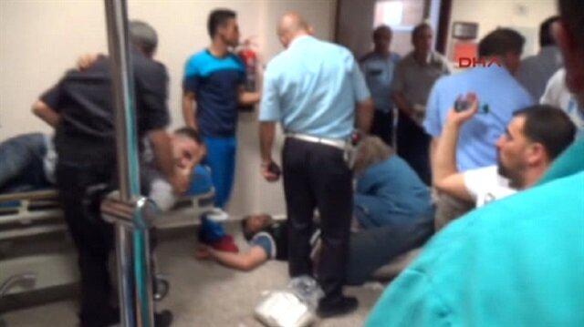 Kazan Akıncıda yaralananların hastanedeki dehşet görüntüleri