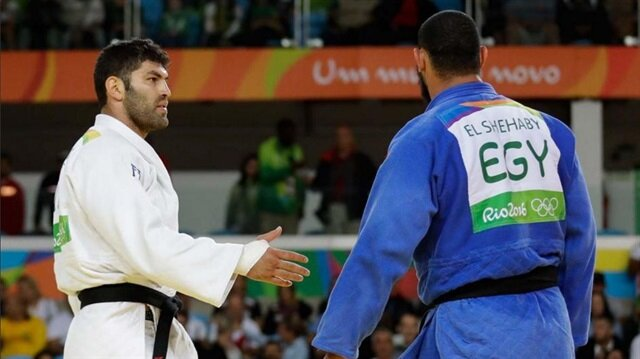 Mısırlı sporcu İsrailli rakibinin elini sıkmadı