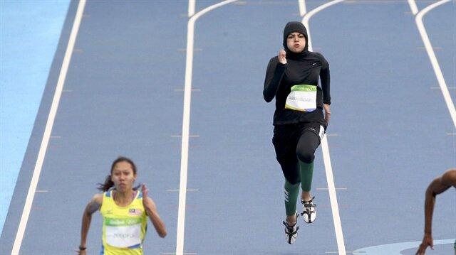 Suudi Arabistanlı Kariman Abuljadayel, 100 metre koşusu tarihine geçti.