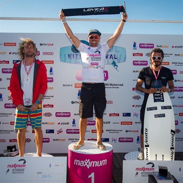 'İstanbul Kite Festival'de Şampiyonlar belli oldu