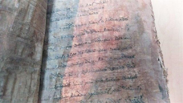 Aksaray'da el yazma İncil ele geçirildi