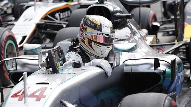 İtalya'da ilk sıra Lewis Hamilton'ın