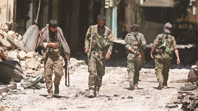 Terör örgütü PKK, Suriye'nin kuzeyinde farklı isim altında varlığını sürdürmeye çalışıyor.