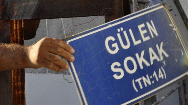 'Gülen Sokak'ın ismi bakın ne oldu