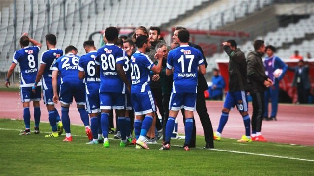 Eskişehirspor kalecisi Boffin, 70 metreden attığı golle takımına 1 puan kazandırdı.