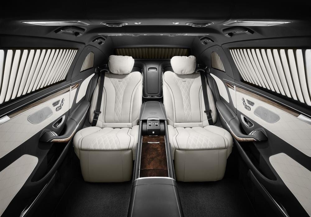 Mercedes S 600 Maybach ultra güvenlikli araç ile ilgili görsel sonucu