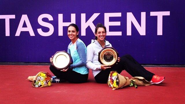 İpek Soylu daha önce de TEB BNP Paribas İstanbul Cup'ta şampiyon olarak ilk WTA çiftler zaferini kazanmıştı.