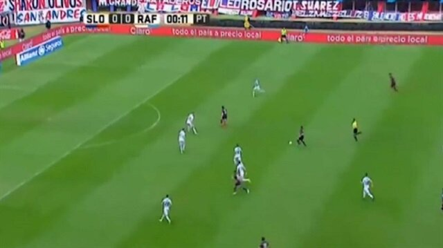 Eski Bursasporludan inanılmaz gol