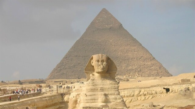 Keops piramiti resmi