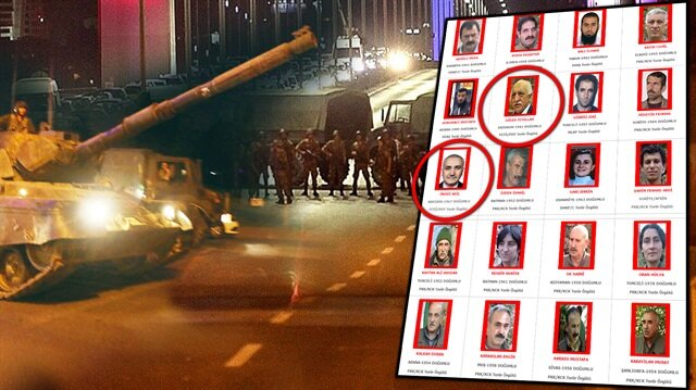 Kırmızı kategoride aranan teröristlerin listesi