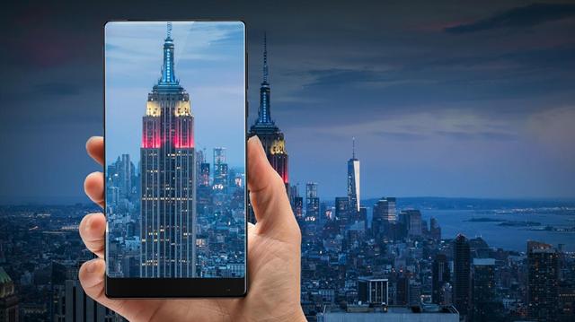 Çerçevesiz telefon isteyenlere Xiaomi Mi MIX