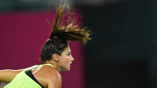 Milli tenisçi İpek Soylu, Çin'de düzenlenen Liuzhou Tenis Turnuvası'nda teklerde çeyrek finale yükseldi.