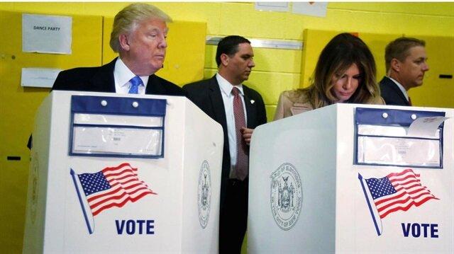 ABD seçimlerine damga vuran görüntü