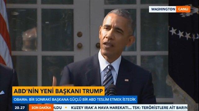 Obama seçim sonuçlarını değerlendirdi
