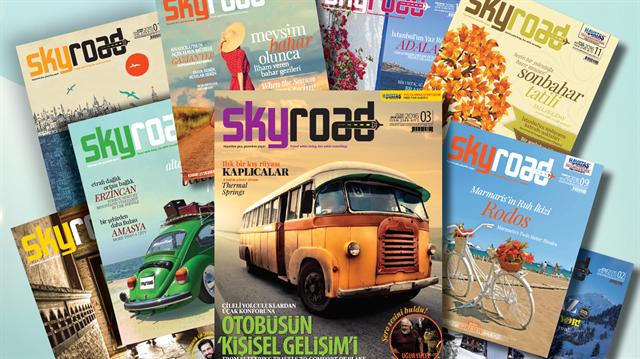 Gezi ve kültür dergisi Skyroad, birinci yaşını kutluyor.