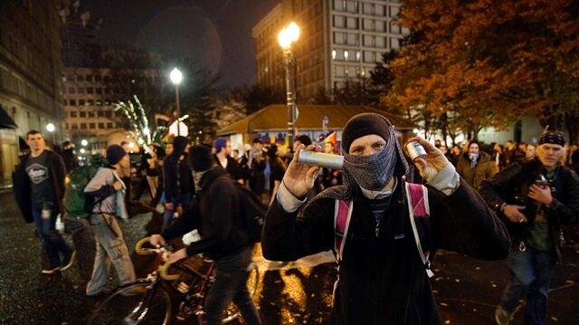 ABD'deki protestolarda ateş açıldı