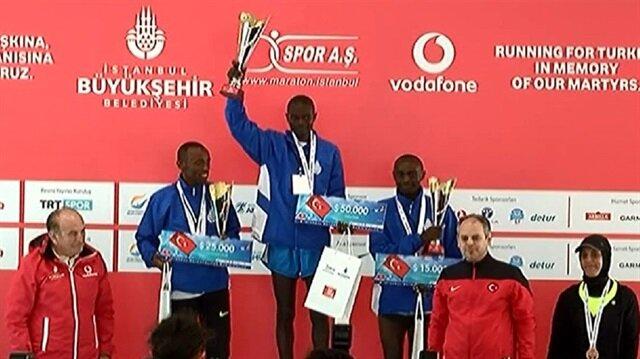 Maraton'un ödül töreni gerçekleştirildi
