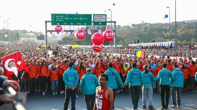 Vodafone'un sponsorluğunda gerçekleştirilen İstanbul Maratonu bu yıl 38. kez düzenlendi. Organizasyon bu sene 15 Temmuz Şehitleri için koşuldu.