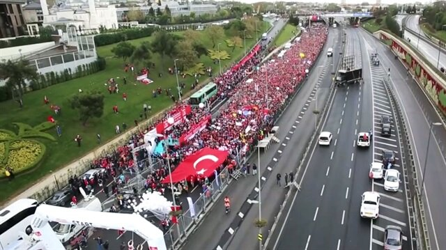 İstanbul Maratonu şehitler anısına koşuluyor