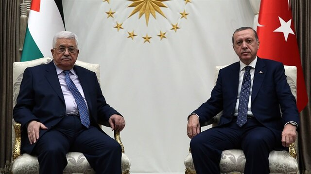 Image result for Abbas, Erdogan, photos