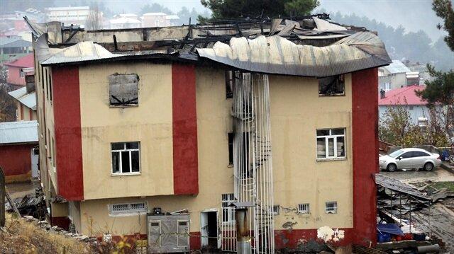 Adana Aladağ'daki yurt yangınının çıkış nedeni belli oldu