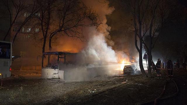 17 Şubat'ta Merasim Sokak'ta askeri servis araçlarının geçişi sırasında düzenlenen terör saldırısında 29 kişi hayatını kaybetmişti.