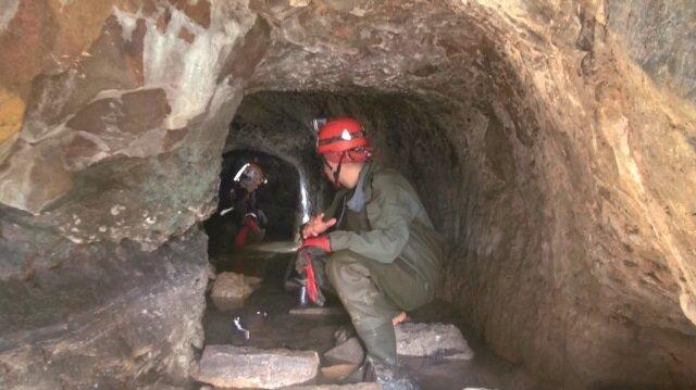 Şehrin göbeğinde 2500 yıllık mağara