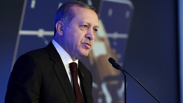 Erdoğan: Göktürk-1 hayırlı olsun