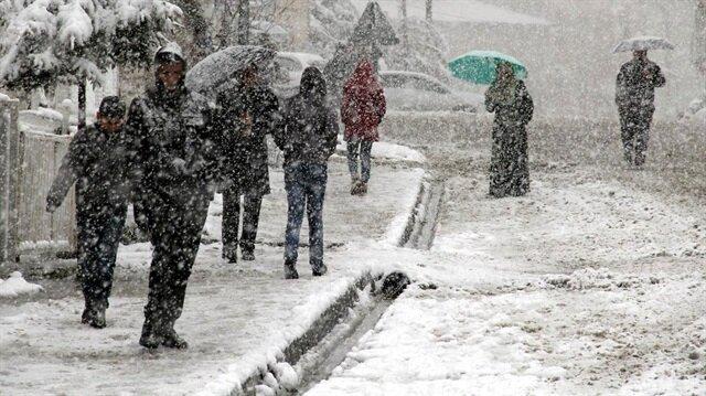Karadeniz'in doğusuna kar uyarısı