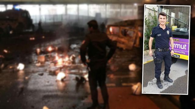 İstanbul Beşiktaş'taki Vodafone Arena Stadı'nın çıkışında dün gece gerçekleştirilen bombalı saldırıda şehit olan 30 polis arasında, 21 yaşındaki 5 aylık polis olan Durmuş Öcal şehit oldu.