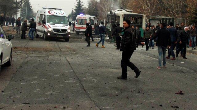 Kayseride Terör Saldırısı: 14 Şehit, 56 Yaralı