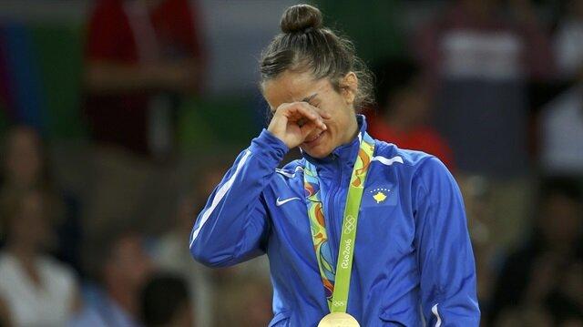 Kosovalı sporcu Rio 2016'da ülkesine altın madalya kazandırmıştı.
