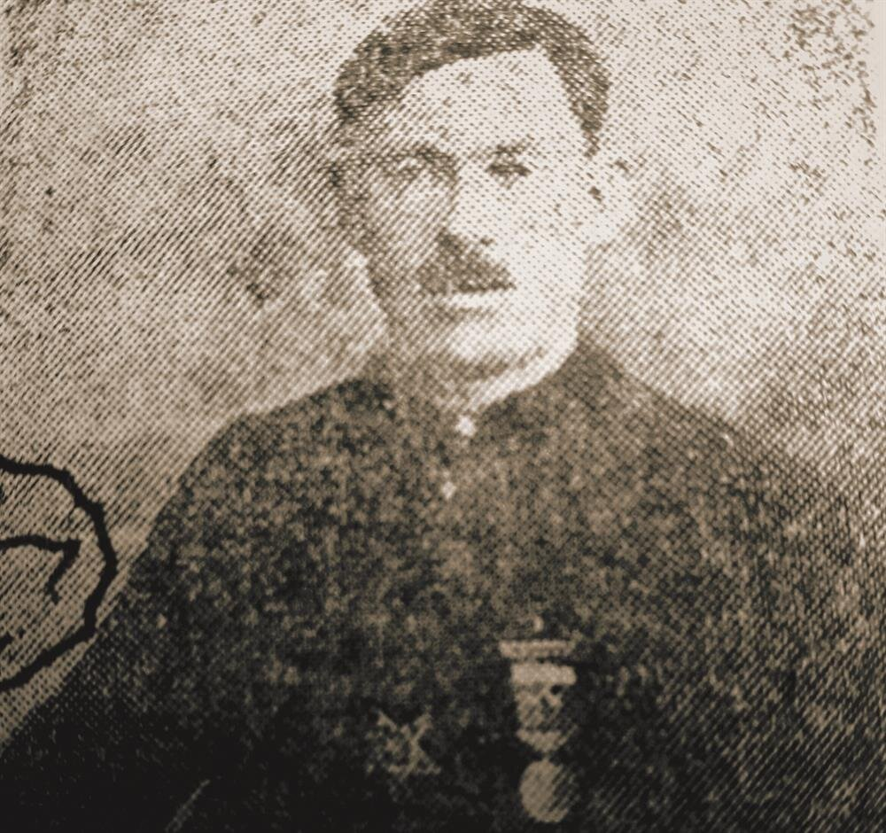 Kara Salih Çavuş 1. Dunya Savası'ndayken.