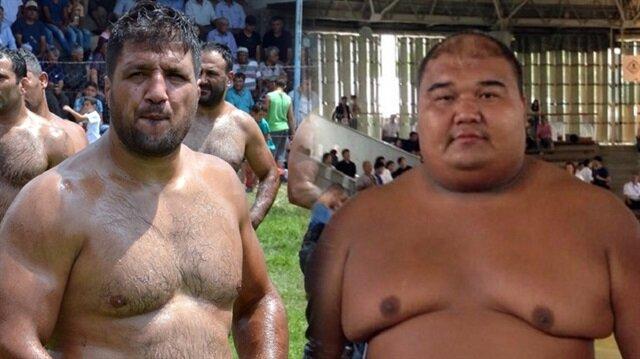 Altın kemerli Başpehlivan Recep Kara ile Asya Sumo Şampiyonu Almaz Ergeshov güreşecek.