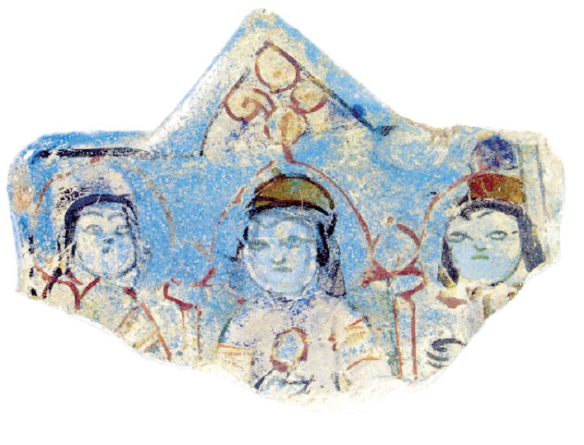Çinideki Selçuklu 8 köşeli yıldız, Selçuklu kültür ve sanatının temel fi gürlerinden biridir. Konya'daki Alâeddin Keykubad Köşkü'nde yer alan ve 3 fi gürün görüldüğü bu çini parçasının tamamı, tahrip olmadan önce 8 köşeli bir yıldız şeklindeymiş.