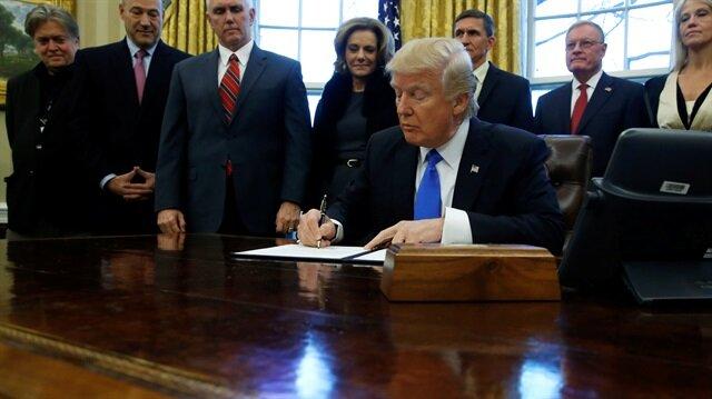 Trump'ın göçmen kararı askıya alındı