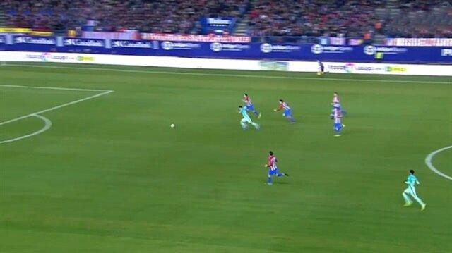Luis Suarez'den Atletico Madrid'e inanılmaz gol
