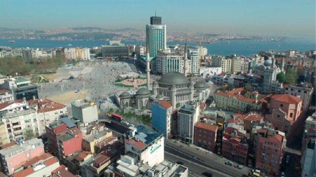 Taksim'e yapılacak caminin görüntülerine ulaşıldı