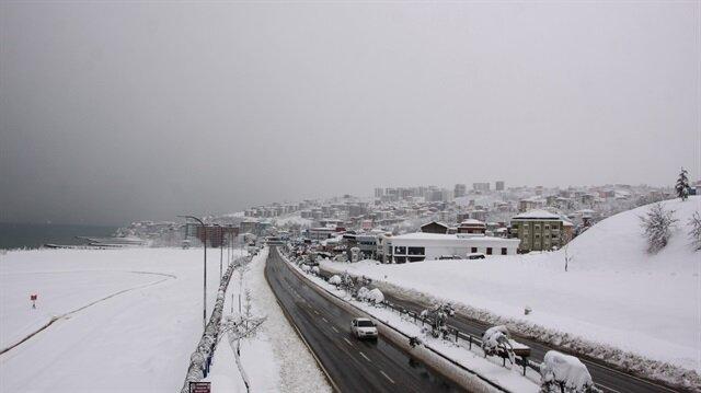Trabzon Icin Yeni Kar Yagisi Uyarisi Yapildi Trabzon Hava