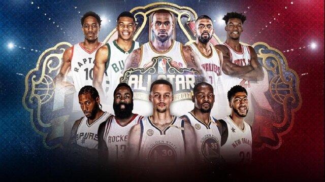 NBA All-Star 2017 başlıyor