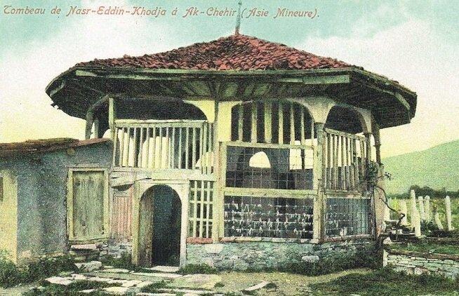 Akşehir'de Nasreddin Hoca Türbesi'nin eski hali.