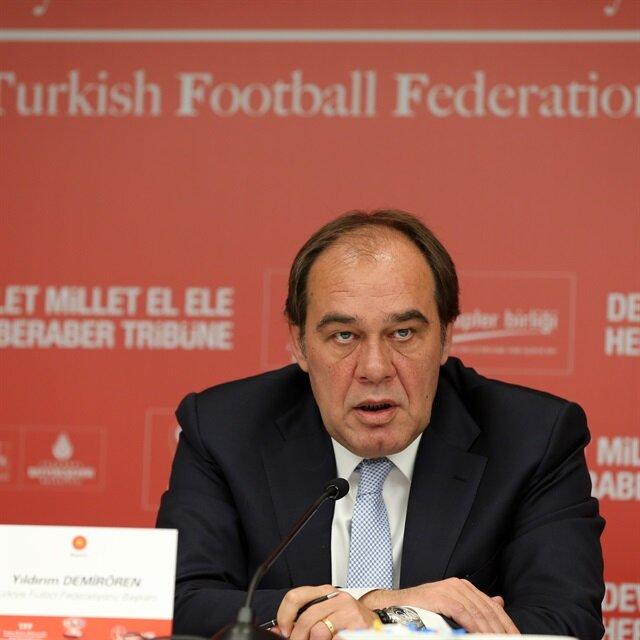 TFF 'Euro 2024' için UEFA'ya gidiyor