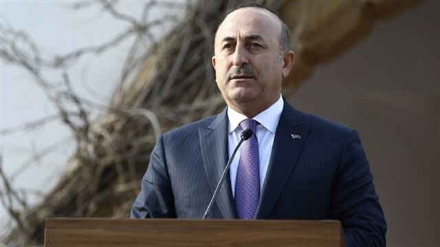 """The U.S. should correct its mistake and stop supporting the YPG or cooperating with the terrorist organization,"" Çavuşoğlu says"