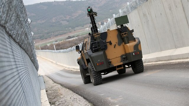 Sınır hattına 'Kobra-2'li koruma