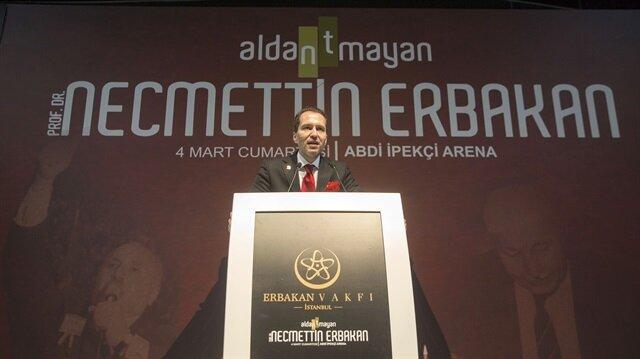 Necmettin Erbakan İstanbul'da anıldı