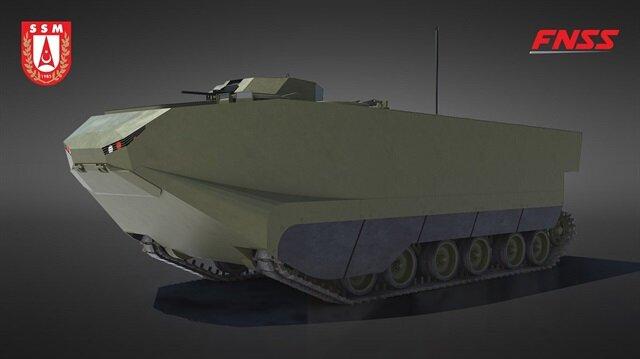 Zırhlı amfibi hücum araçları için imzalar atıldı
