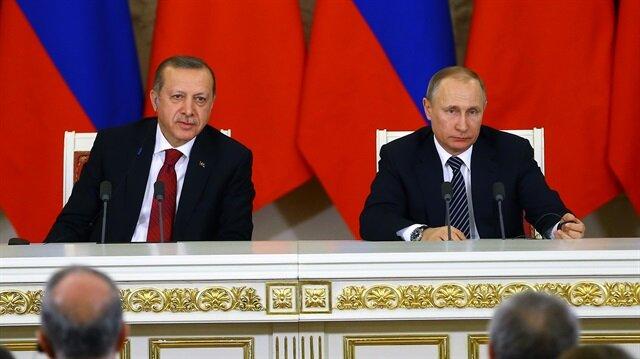 Cumhurbaşkanı Erdoğan ile Putin'den ortak açıklama