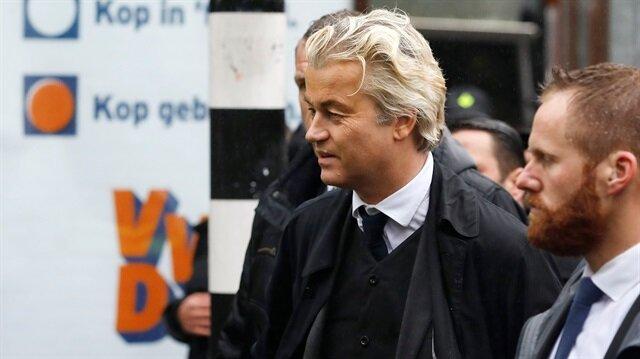 Wilders'ten ırkçı mesaj